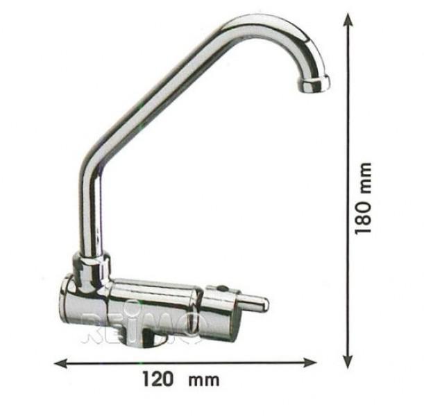 Kaltwasserhahn für Waschbecken