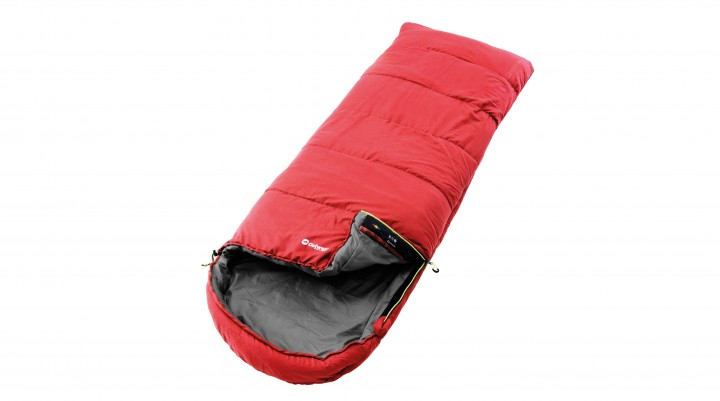 Outwell Schlafsack Campion Lux rot