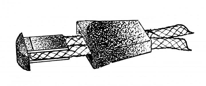 NM Reißverschlussverlängerung schwarz