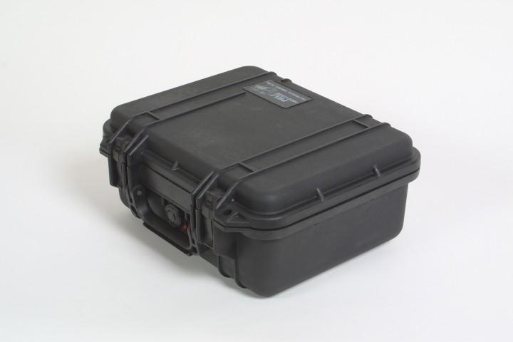 Pelibox 1400 schwarz mit Schaumeinsatz