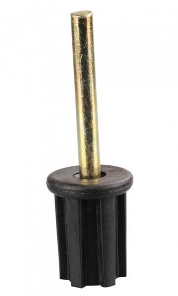 Stopfen 22 mm mit geradem Stift