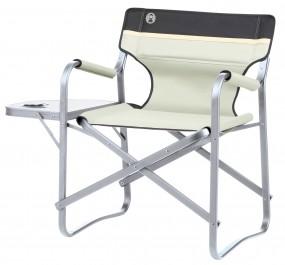 Coleman Campingstuhl Deck Chair mit Tisch khaki