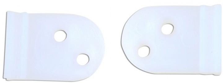 Schiebetürgleiter Nylon 28 x 20 x 10 mm