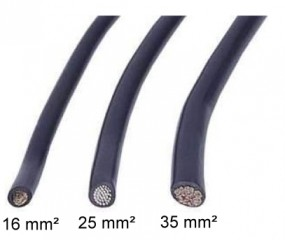 KFZ-Leitung 25 mm² 2 Meter
