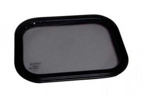 Sicherheitsglasfenster Starr 490x490 mm Rahmen weiß