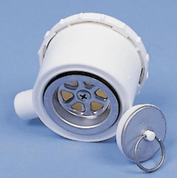 Wasserablaufgarnitur Luxus Schlauch 19 mm mit Geruchsverschluss