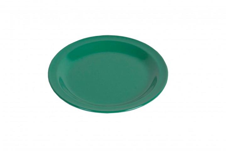 Waca Melamin, grün Teller flach Ø 23,5 cm