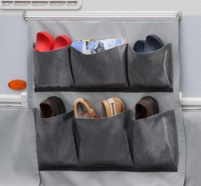 Radkastenabdeckung mit 6 Taschen