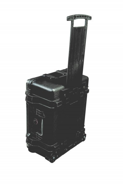 Pelibox Flightcase 1560 schwarz ohne Schaum