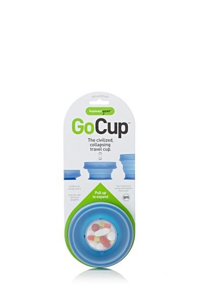 humangear 'GoCup' 237 ml, blau
