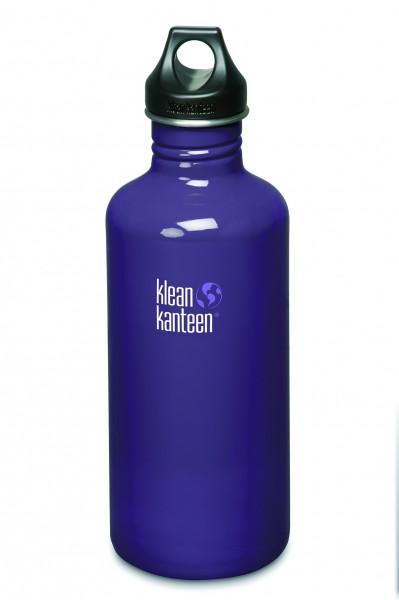 Klean Kanteen Flasche 'Classic' Loop Cap violett, 1,182 L
