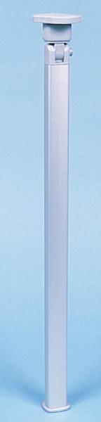 Klapptischfuß Silber Höhe 720 mm Gelenk oben