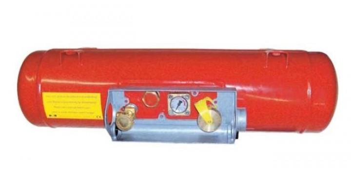 Wohnmobil Gastank 60L mit Halter Aluschutzkasten Fernbefüllung