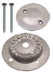 Kit Brennerkorpus groß mit 2 Löchern und Brennerdeckel Inox für SMEV-Kocher neue Modelle