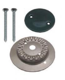Kit Brennerkorpus klein mit 1 Loch und Brennerdeckel emailliert für SMEV-Kocher neue Modelle