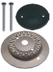 Kit Brennerkorpus groß mit 1 Loch und Brennerdeckel emailliert für SMEV-Kocher neue Modelle