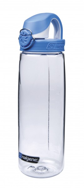 Nalgene 'Everyday OTF' 0,7 L, transp., Deckel blau