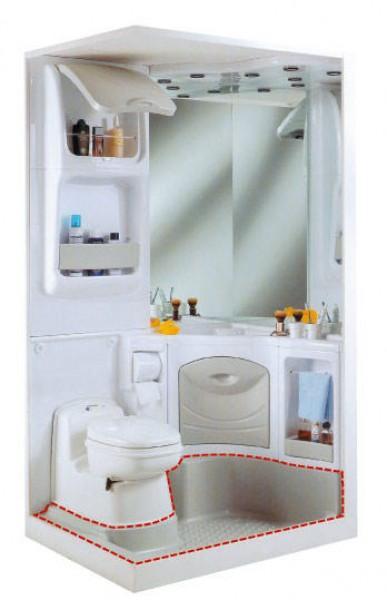 Duschwanne für Sanitäreinrichtung 2000