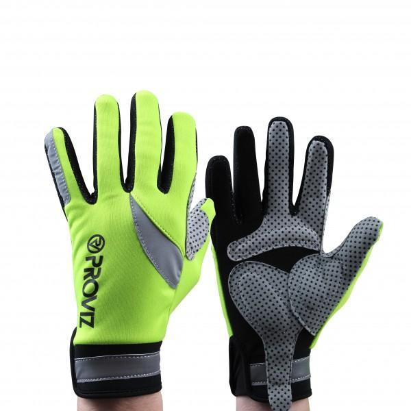 Proviz Handschuhe 'Hi-Viz Cycling' gelb, L