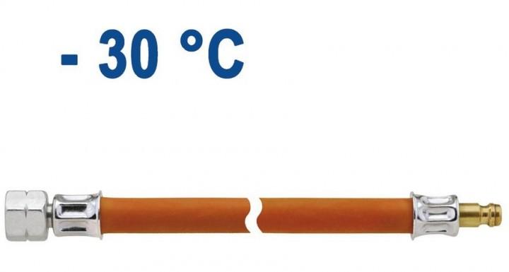 Schlauchleitung Mitteldruck PS 10 bar 800 mm Überwurfmutter x Stecknippel