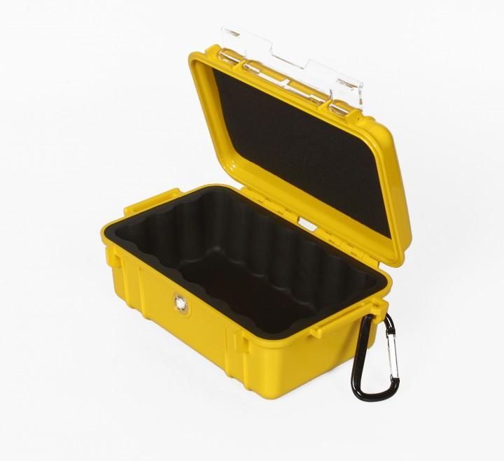 Peli 'MicroCase 1050' gelb