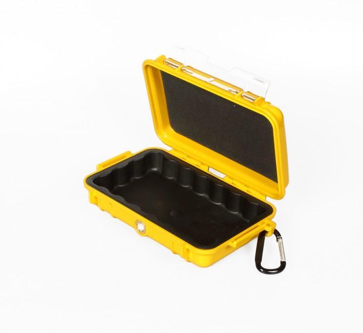 Peli 'MicroCase 1040' gelb