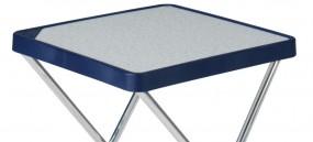 Tischauflage blau