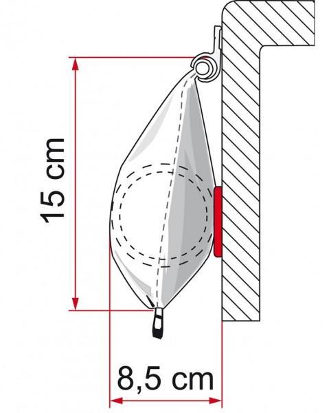 Fiamma Caravanstore 310 de Luxe grey