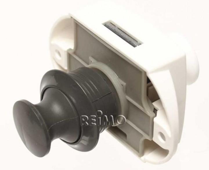 Push-Lock beidseitig betätigbar grau