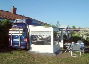 Thule Omnistor 5102 für VW T5 Hellgrau