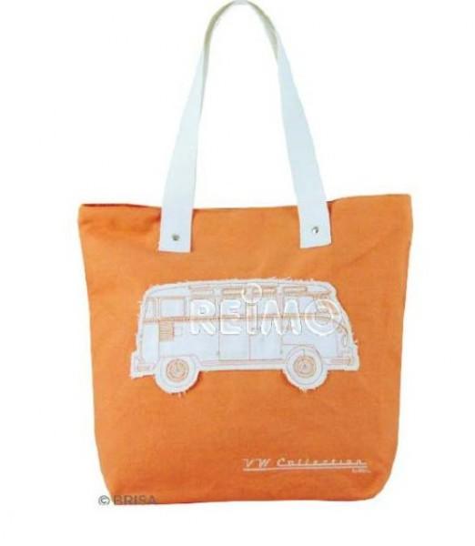 VW Collection Canvas Shopper Bag orange
