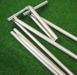 Chiemsee Vorzeltgerüst Stahl 25 x 1 mm