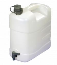Wasserkanister mit Ausgießtülle 20 Liter mit Ablasshahn