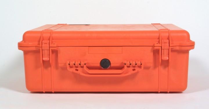 Pelibox 1600 orange mit Schaumeinsatz