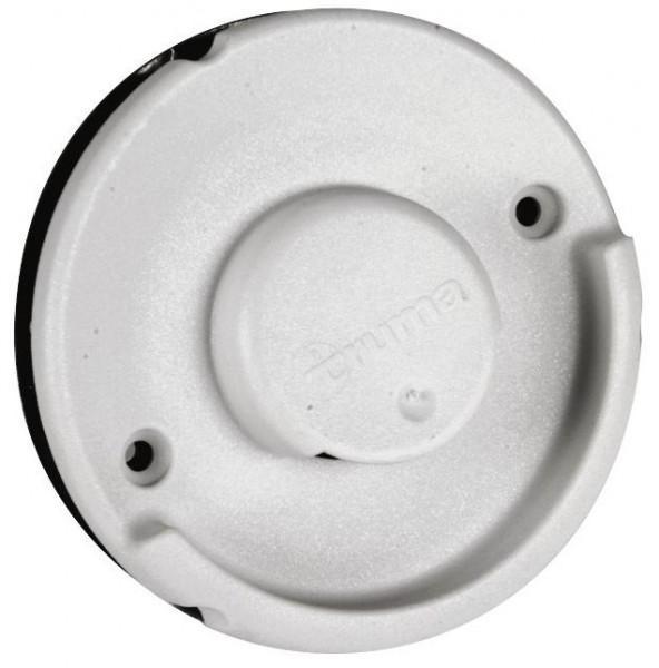 Wandkamin WK 2400 weiß ohne Rohre