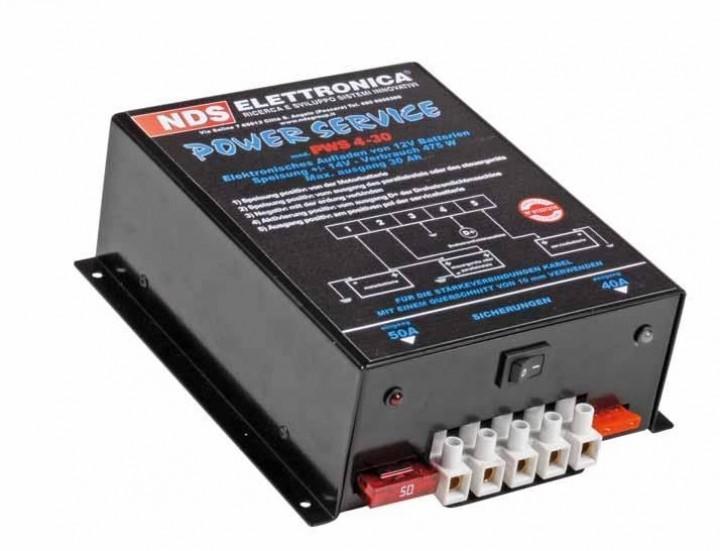 Ladegerät Power Service NDS Elettronica PWS-4 25 Basic