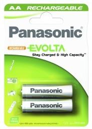 Panasonic Akku 'Evolta', geladen AA, 2 Stück