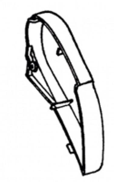 Thule Omnistor 6900 Endkappe rechts 6502-6802-6900 weiß