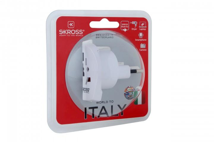 Skross Country Steckeradapter 'World to Italy'