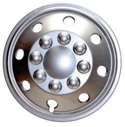 Radzierblende 15 Zoll matt Silber für Ducato 2007 und Sprinter