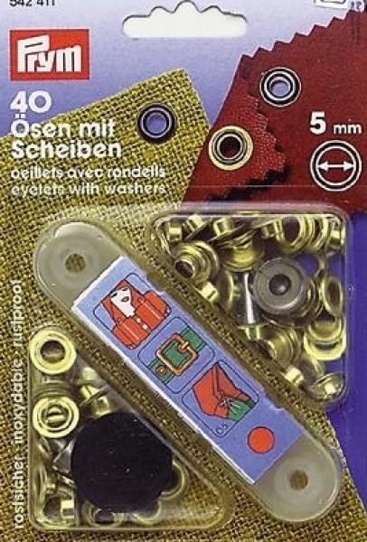 PRYM Ösen und Scheiben 5 mm