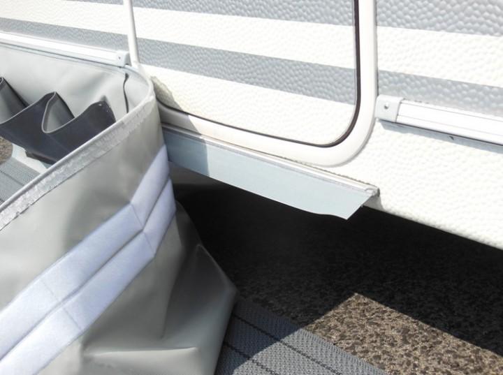 Spezial-Bodenschürze für Caravan Länge 6 m Höhe 50 cm