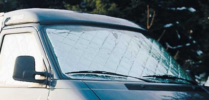 Thermomatte für Ford Transit und VW T4 Heckscheibe Baujahr 86-89