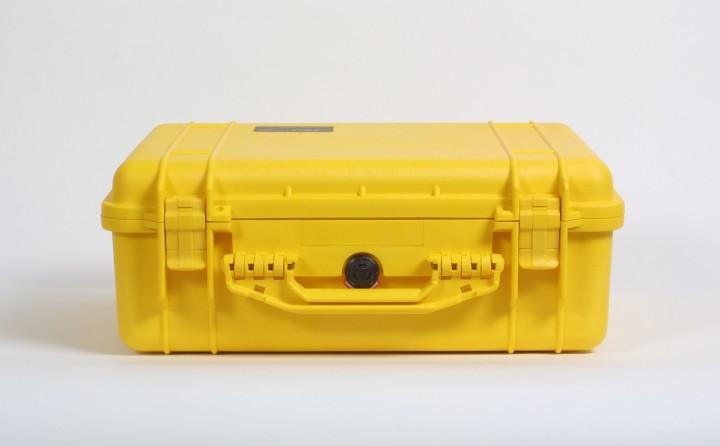 Pelibox 1520 gelb mit Schaumeinsatz