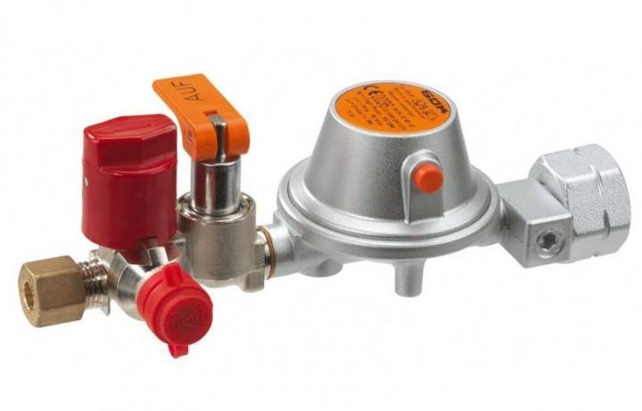 Druckregelgerät für Flüssiggas 50mbar