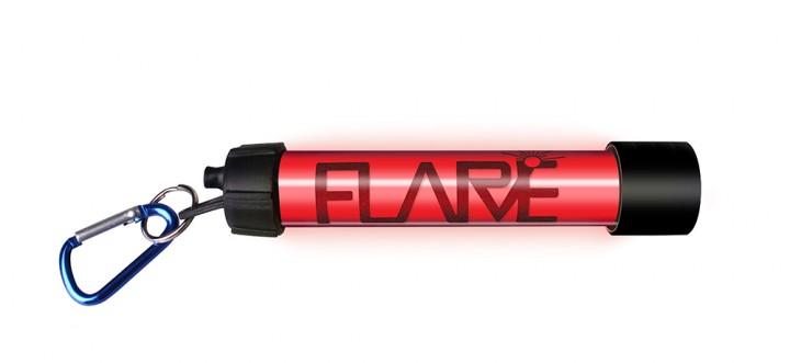 Proviz Leuchtstab Flare rot