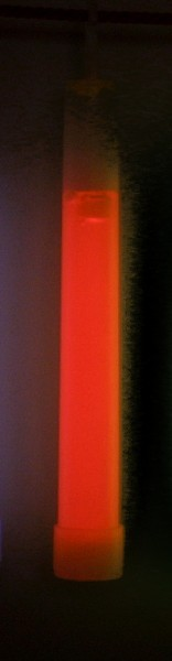 Knicklicht, 15 cm rot