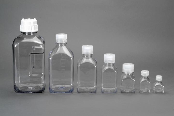 Nalgene Flasche 'Quader', Polycarbonat 2000 ml, Hals Ø 40 mm