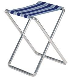 Crespo Klapphocker blau-grau