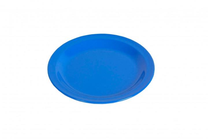 Waca Melamin, blau Teller flach Ø 23,5 cm